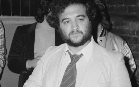 Long-lost John Belushi recording with punk band he championed in…